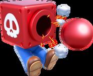 Cannon Box Artwork - Super Mario 3D World