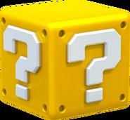 Question Block Artwork - Super Mario 3D World