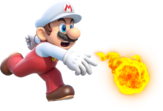 Fire Mario Artwork - Super Mario 3D World