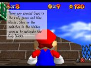 Super Mario 64 Whomps Fortress cap tutorial