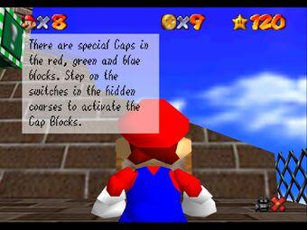 Mario 64 Sign