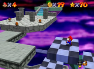 SM64 Bowser in the Sky course 2