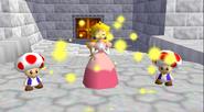 Peach 2 Toads N64 ending
