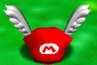 Wing cap Super Mario 64