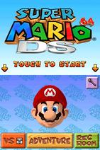 Mario64DS-Menu