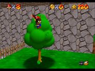 Super Mario 64 Whomps Fortress owl