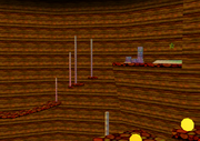 Toads Tool SM64 Lethal Lava Land Area 2 Inside