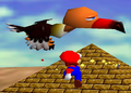 Klepto the Condor with Mario.png