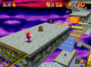 SM64 Bowser in the Sky course