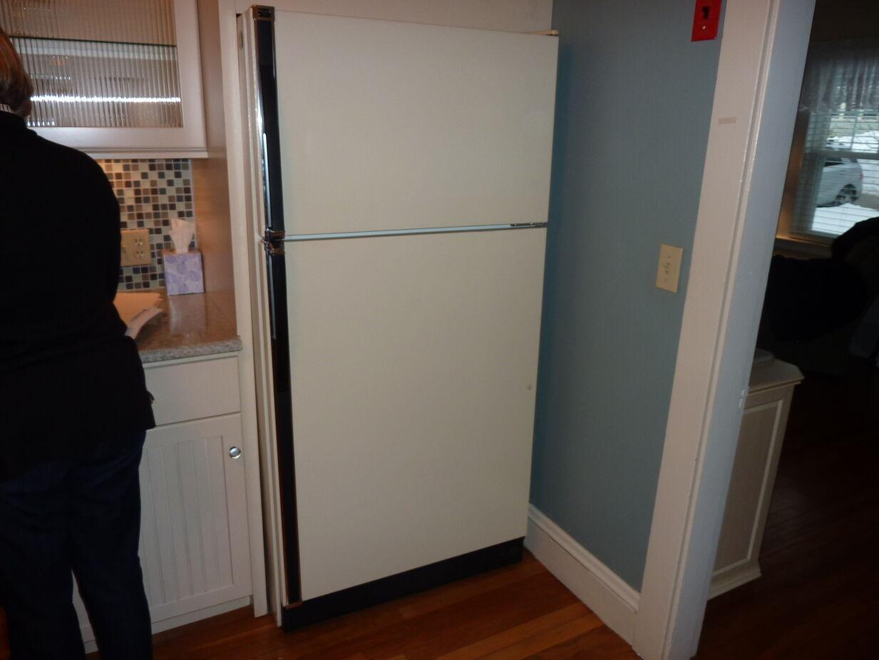 My family old fridge