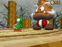 Goomboss vs Yoshi