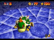 Mario throw Bowser N64
