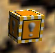 Tiny Huge Island Beach Yellow box