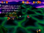 SM64 Bowser in the Sky boss 70 stars defeated 2