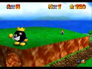 Super Mario 64 King Bob Omb gameplay