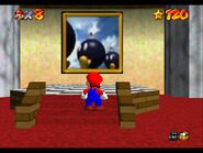 Super Mario 64 Bob Omb Battlefield painting