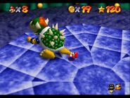 Mario throw Bowser N64 3