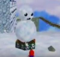 Friendly Snowman SM64