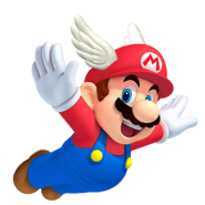 Wing cap Mario official