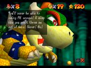 1st Bowser text N64 2