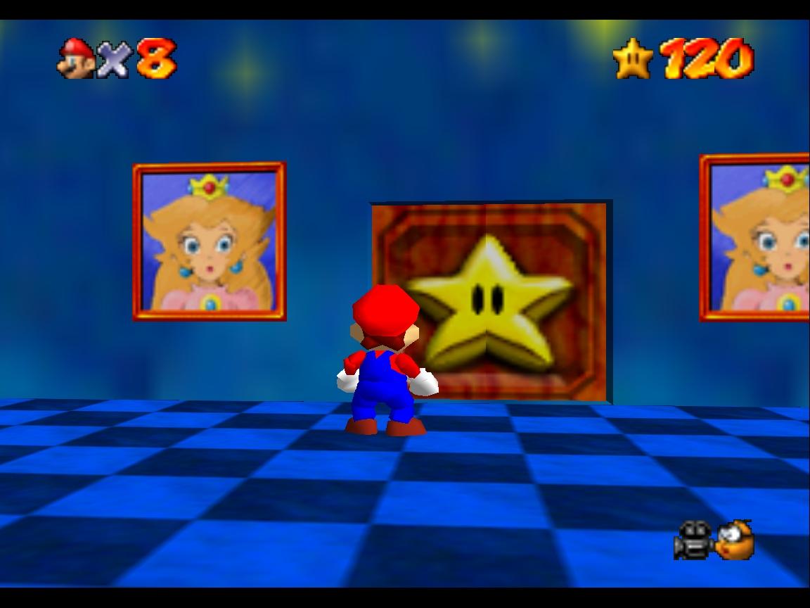 Castle interiors star door.jpg  sc 1 st  Super Mario 64 Official Wikia - Fandom & Image - Castle interiors star door.jpg | Super Mario 64 Official ...