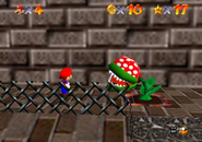 Small Piranha Plant Whomp Fortress screenshot