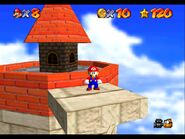Super Mario 64 Whomps Fortress tower