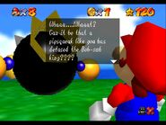 Super Mario 64 King Bob Omb gameplay 2
