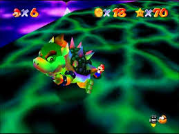 Bowser In The Sky | Super Mario 64 Official Wikia | FANDOM