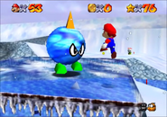 Chill with the Bully Mario VS Big Ice Bully