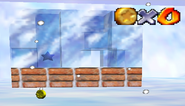 Ice Block House Snowmans Land SM64
