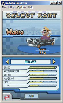 Me playing mario kart on the crappy ds but its ok because mario kart ds is a OK game