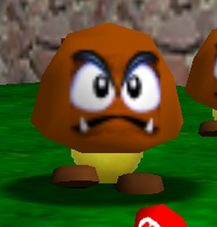 Tiny Huge Island Goomba