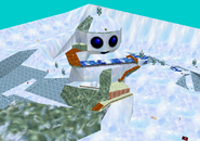 Toads Tool SM64 Snow Man's Land Area 1 Inside
