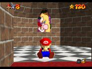Super Mario 64 Easter Egg Mario takes a nap 2