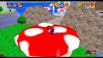 Super Mario Star Road - Mushroom Mountain Town