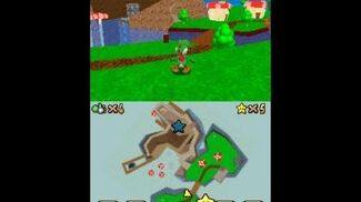 Super Mario Star Road DS Koopa Canyon & Mushroom Mountain Town Preview 2