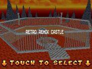 Bowsers Retro Remix Castle (DS)