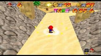 Super Mario Star Road ~ Sandy Slide Secret