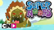Supernoobs Giant Turtle Attack Cartoon Network