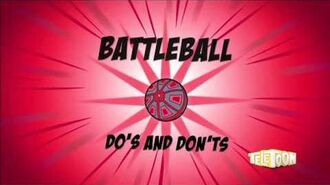 Supernoobs Bonus Video Battleball Do's and Don'ts on Turn into a House Fly