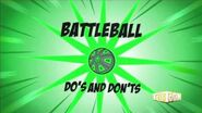 Supernoobs Bonus Video Battleball Do's and Don'ts on the Green Battle Ball
