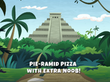Pie-ramid Pizza with Extra Noob!