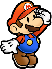180px-Mario Stare - Paper Mario The Thousand-Year Door