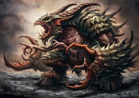 - The Glabrezu - Slain by Ulthred
