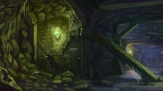 R169 457x256 8956 dungeon 2d fantasy dungeon landscape picture image digital art