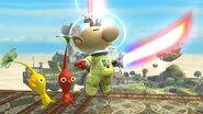 Olimar with Beam Sword SSB4