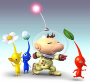 Pikmin and olimar