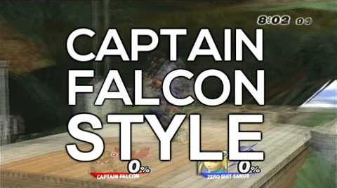 CAPTAIN FALCON STYLE - Gangnam Style (강남스타일)