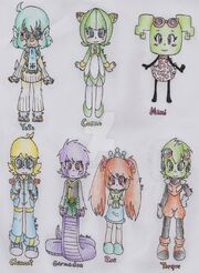 Favourite characters by ananini-d9t6cmq